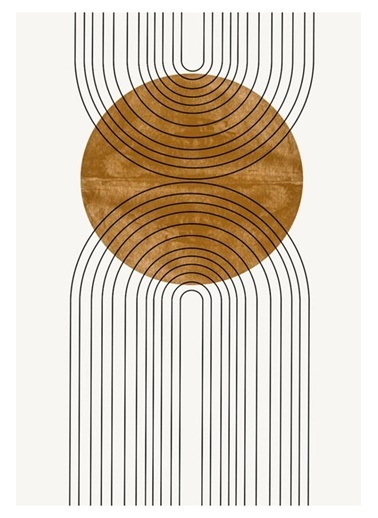 MarkaEv Canvas Modern Tablo 0181 Renkli